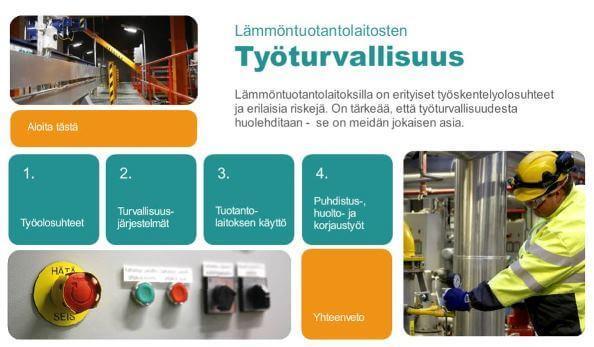 Lämmöntuotantoverkon työturvallisuus